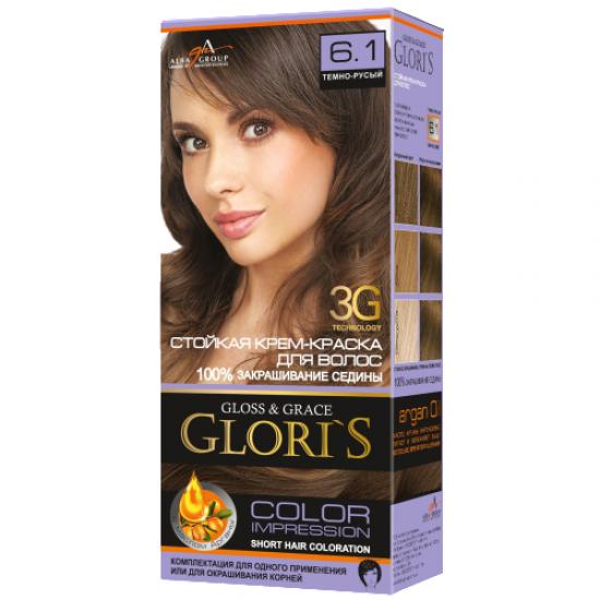 Gloris 6.1 Темно-русий
