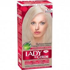 Леді колор 9,01 Срібний блондин
