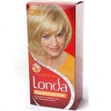 Лонда 01 Сонячний Блонд (Крем для висвітлення)