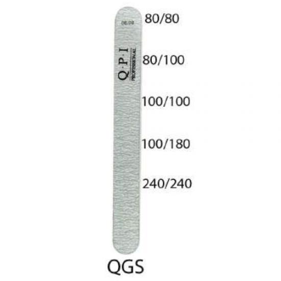 Пилка QPI QGR-80/100, 80/80 сіра прямокутна