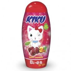 Kiku Happy Cherries 3 в 1 (Гель для душа, шампунь, піна для ванни) 250 мл