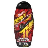 Kiku Hot Wheels Carbonic 2 в 1 (Гель-шампунь) для хлопчиків 250 мл