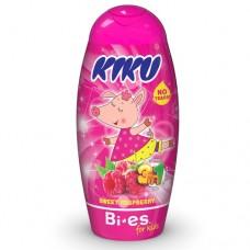 Kiku Sweet Raspberry 3 в 1 (Гель для душа, шампунь, піна для ванни) 250 мл