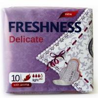 Freshness прокладки Delicat Aroma 3к. (10шт.)