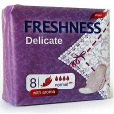 Freshness прокладки Delicat Aroma 4к. (8шт.)