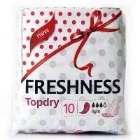 Freshness прокладки Topdry Light 3к. (10шт.)
