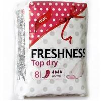 Freshness прокладки Topdry Normal 4к. (8шт.)