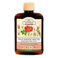 Зелена аптека олія масажна 5 в 1 Комплексна 200 мл