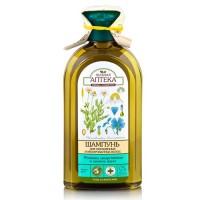 Зелена аптека шампунь Ромашка і Льняна олія 350мл