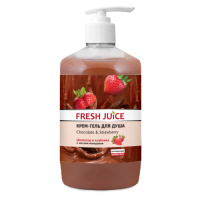 Fresh Juice гель для душу Дозатор Chocolate & Strawberry 750мл