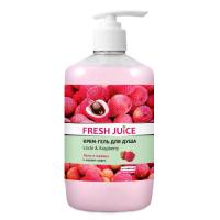 Fresh Juice гель для душу Дозатор Litchi & Raspberry 750мл