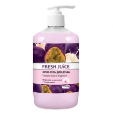 Fresh Juice гель для душу Дозатор Passion fruit & Magnolia 750мл