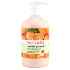 Fresh Juice гель для душу Дозатор Tangerine & Awapuhi 750мл