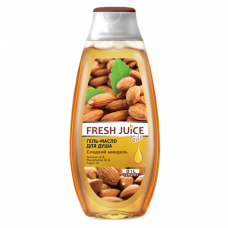 Fresh Juice гель-масло для душу Мигдаль 400мл