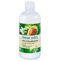 Fresh Juice гель для душу Avocado & Rice milk 500мл
