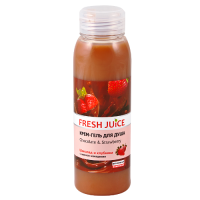 Fresh Juice гель для душу Chocolate & Strawberry 300мл