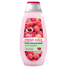 Fresh Juice гель для душу Litchi & Raspberry 400мл