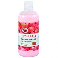 Fresh Juice гель для душу Litchi & Raspberry 500мл