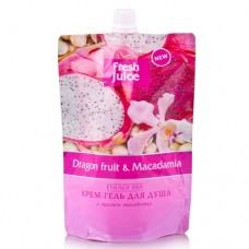 Fresh Juice гель для душу дой-пак Dragon fruit & Macadamia 170мл