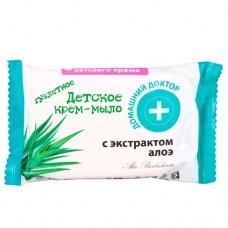 Домашній доктор дитяче крем-мило з екстрактом Алое 70г
