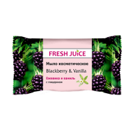 Fresh Juice мило Blackberry & Vanilla 75г