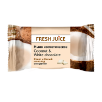 Fresh Juice мило Coconut & White Chocolate 75гр