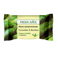 Fresh Juice мило Cucumber & Bamboo 75гр