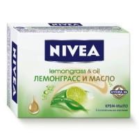 Nivea крем-мило Лемонграс і масло 100гр