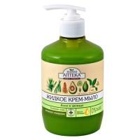 Зелена аптека рідке крем-мило Алое і Авокадо 460мл