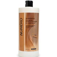 Шампунь для волосся поживний на основі масла каріте Brelil Numero Deep Nutritive Treatment Shampoo 1л