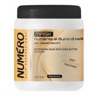 Маска для волосся поживна на основі масла каріте Brelil Numero Deep Nutritive Treatment Mask 1л