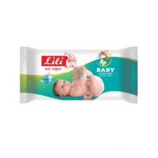 Lili вологі серветки Дитячі з екстрактом календули і вітаміном Е 60шт.