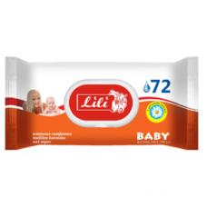 Lili вологі серветки Дитячі з екстрактом ромашки 72шт.