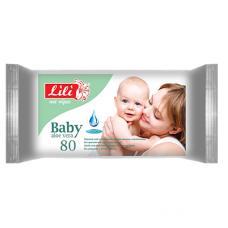 Lili вологі серветки Дитячі з алое 80шт.