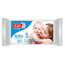 Lili вологі серветки Дитячі з екстрактом календули і вітаміном Е 80шт.