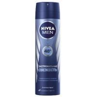 Nivea MEN спрей дезодорант – антиперспірант Екстремальна свіжість 150мл