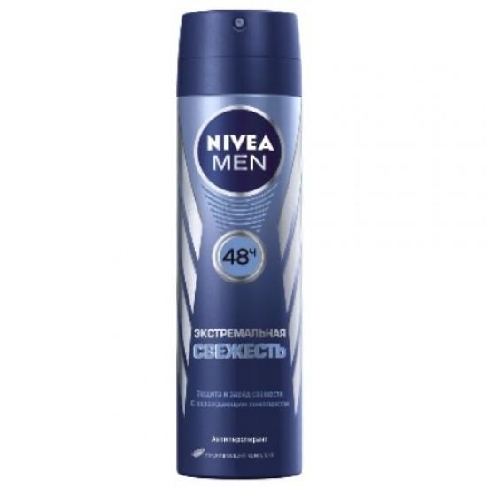 Nivea MEN дезодорант-спрей Екстремальна свіжість 150мл