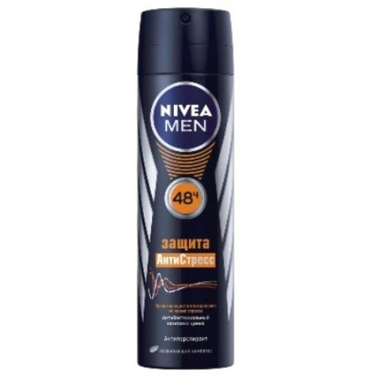 Nivea MEN дезодорант-спрей Захист Антистрес для чоловіків 150мл