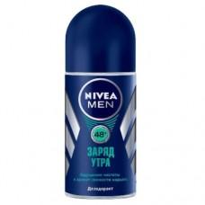 Nivea MEN кульковий дезодорант – антиперспірант Заряд ранку 50мл
