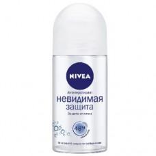 Nivea кульковий дезодорант – антиперспірант Невидимий захист 50мл
