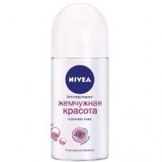 Nivea кульковий дезодорант – антиперспірант Краса перлин 50мл