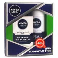 Nivea Men Набір Для чутливої шкіри