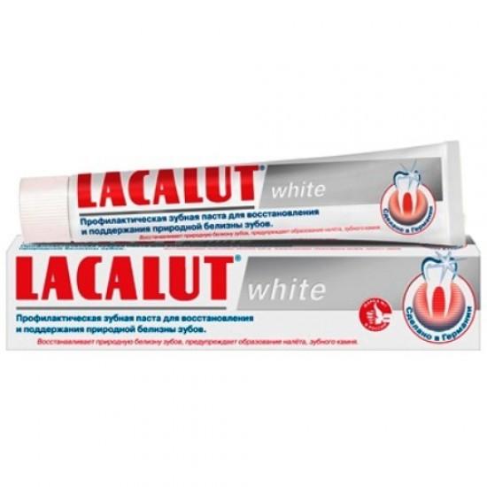 Lacalut зубна паста White 75ml