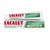 Lacalut зубна паста Herbal gel 75ml