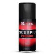Bi Es Scorpio Poison Дезодорант-спрей (150 мл)
