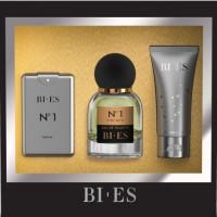 Bi Es №1 (Т/в 100ml + парфуми 15ml + гель д/д 50ml) Набір для чоловіків