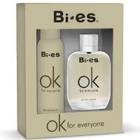 Bi Es Ok For Everyone (Т/в 100ml + дезодорант-спрей 150мл) Набір для чоловіків