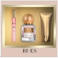 Bi Es №2  Жіночий набір (edp/50 ml + sh/gel/50ml + parf/12ml)