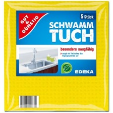 G&G Schwamm-tuch Серветки вологопоглинаючі (5 шт.)